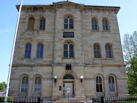 Cairo, إلينوي: U.S. Custom House Museum - Cairo, Illinois