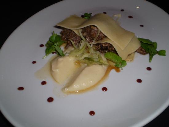Apprentice Restaurant: Kudu wrap