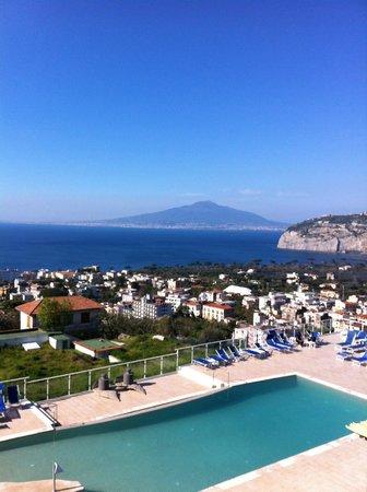 Art Hotel Gran Paradiso: balcony view