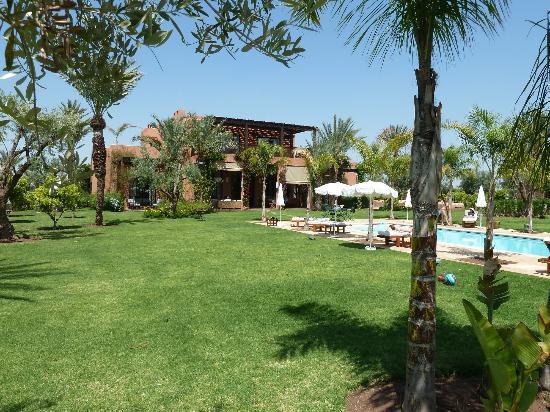 La villa et sa piscine picture of villa jardin nomade for Villa jardin nomade