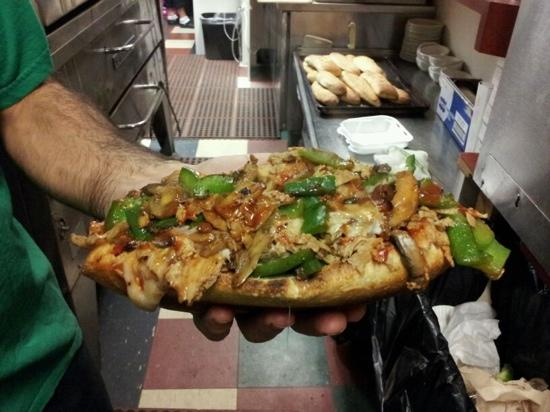 Mamma Mia's: chicken cheesteak