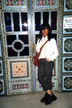 Fès Hotel Mounia: porta sala/bar