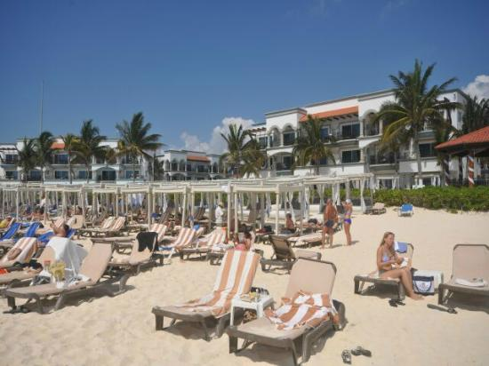 Hilton Playa Del Carmen Beach Cabanas