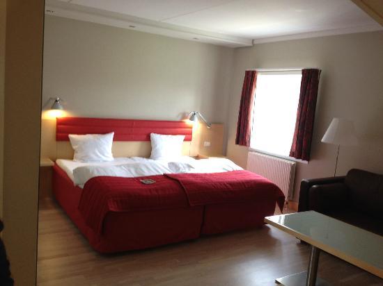 Scandic Bygholm Park : Mit værelse, dejlig seng