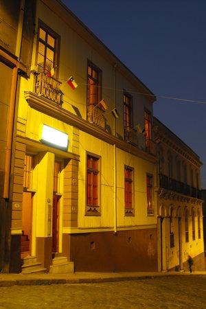 Hotel Da Vinci Valparaiso: fachada 2