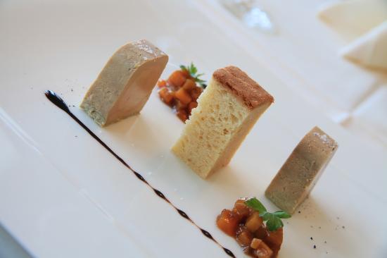 Bubendorf, Suisse : Assiette de foie gras
