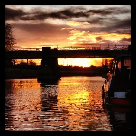 York Marine Services Ltd.: Sunset over the Ouse at York Museum Gardens