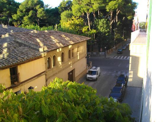 Pedro I De Aragon Hotel: La vista sul parco