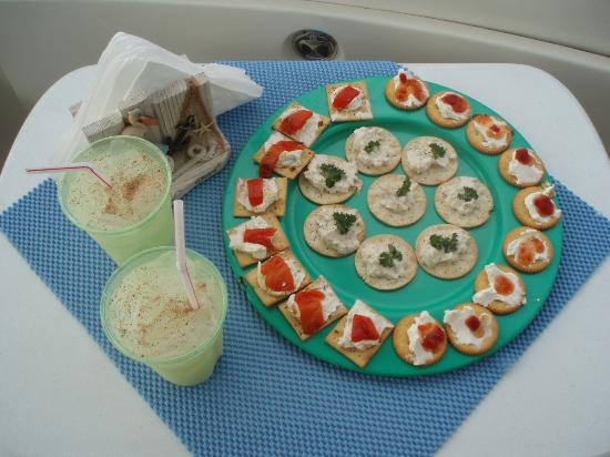 Shooting Star Charters: Pain Killer by Captain Bob and Snacks by Gina