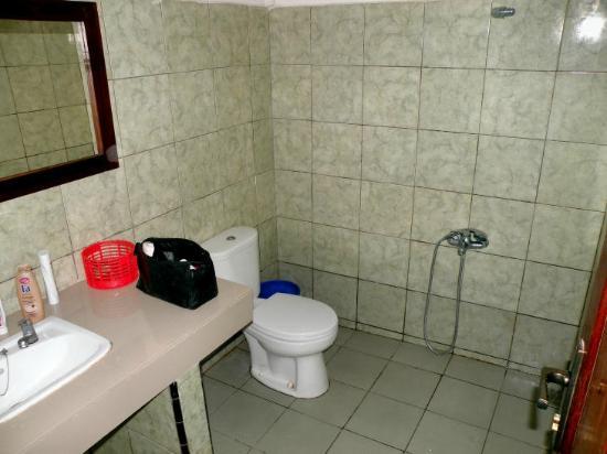 Anda Beach Resort:: Die Toilette duscht mit!