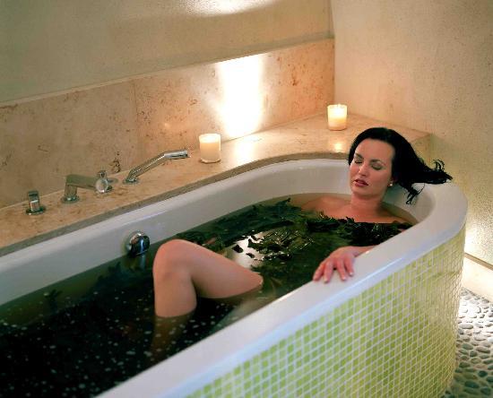 Kelly's Resort Hotel & Spa: Seaweed Baths in Seaspa