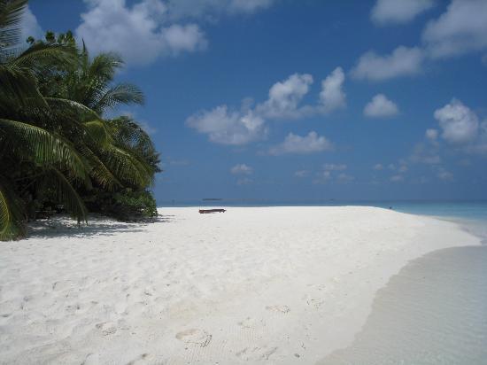 Bathala Island Resort: The beautiful beach
