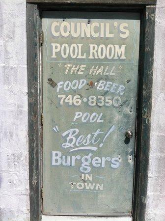 Council's Burgers, Beer, Billiards: Back Door