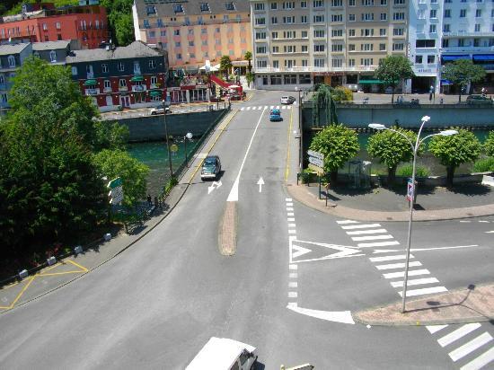 Hotel Alba: La vista dalla camera sul fiume Gave