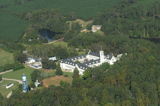 Monastery of the Holy Spirit: The Monastery's 2,300-acre property