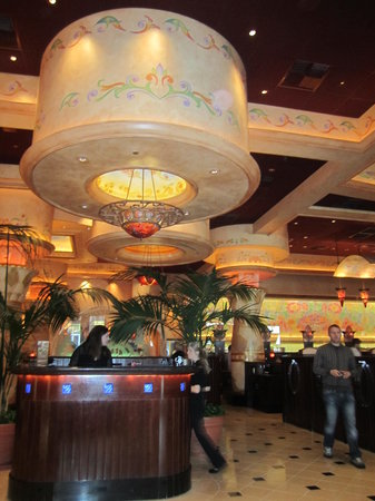Hostess station - Picture of The Cheesecake Factory