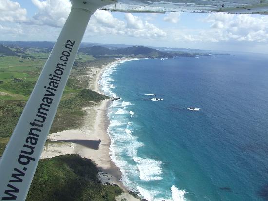 Quantum Aviation Day Tours : Kauri Beach, East Coast, Whangarei