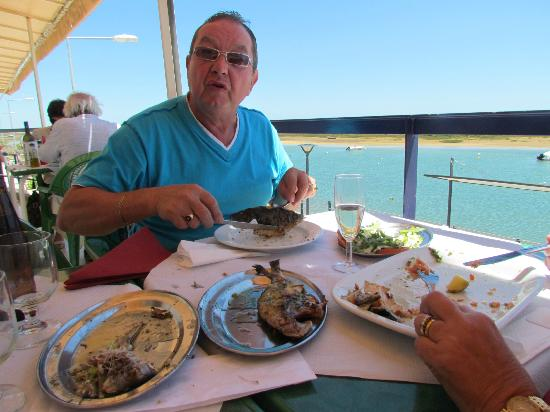Cabanas, Portugal: Check out that food!!