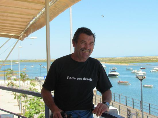 Cabanas, Portugal: the BBQ king!!