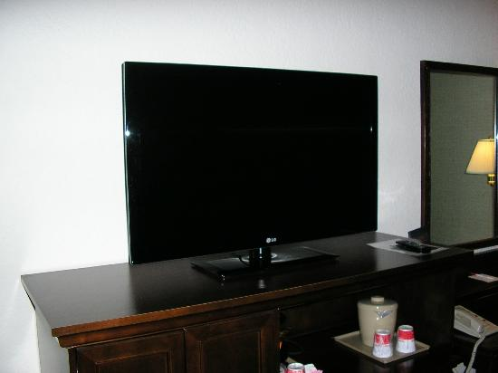 Ramada Austin Central: The great tv in our room