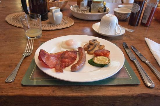 Mill Water House : Breakfast - Cooked breakfast