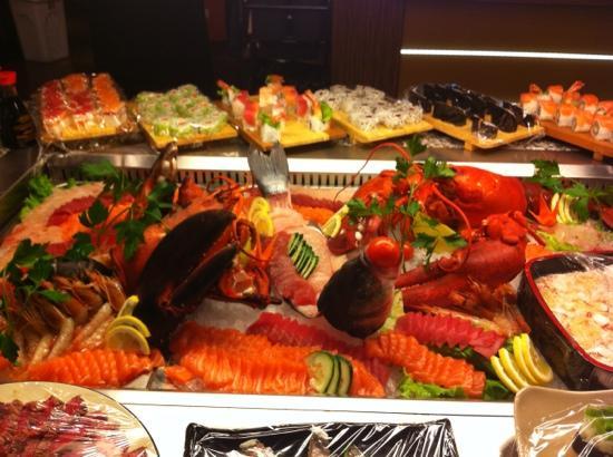 Cantu, Italy: sashimi