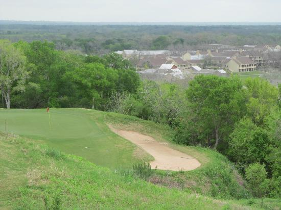 Cedar Creek, TX: Hole #12 overlooking the resort