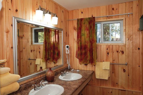 High Falls Motel and Cabins: Bathroom