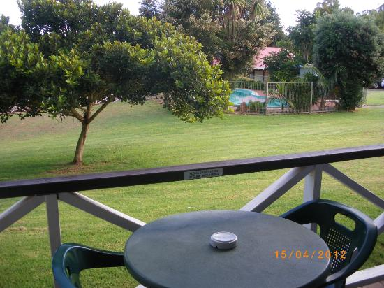 Karri Forest Motel: View from balcony