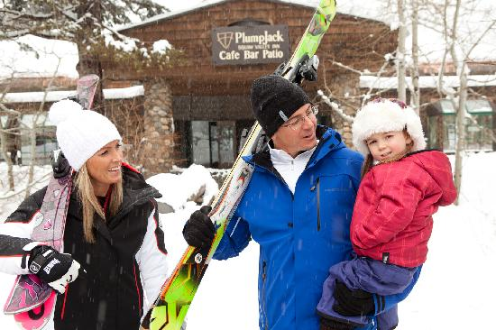 PlumpJack Squaw Valley Inn: Family friendly