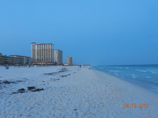 Pensacola Beach: beach across the street from Villa Sabine Bay off of Fort Pickens Rd a