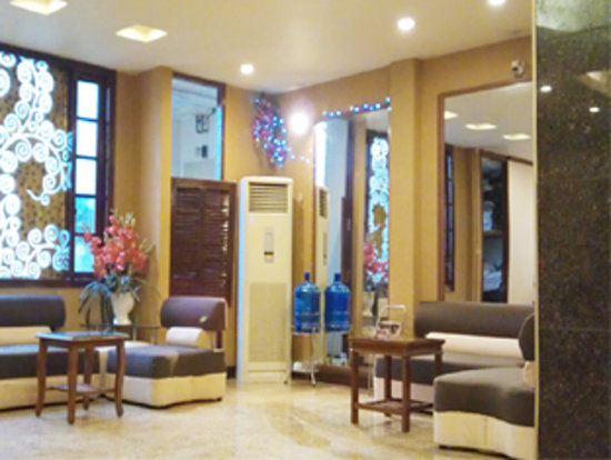 Hanoi Beautiful Hotel : hotel lobby