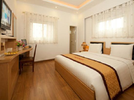Hanoi Beautiful Hotel : Deluxe double room