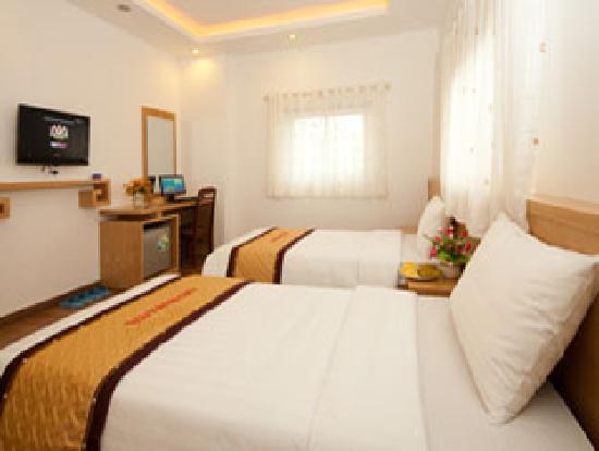Hanoi Beautiful Hotel : Deluxe twin room