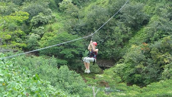 Zipline - Picture of Kauai Backcountry Adventures