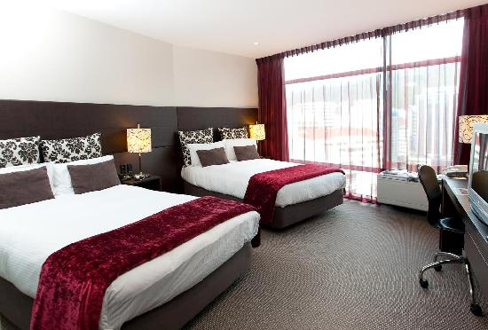 Rydges Wellington: City View Double Double Room