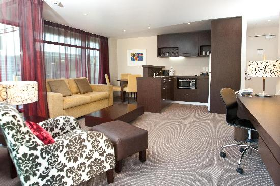 Rydges Wellington: Deluxe King Suite