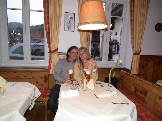 Seehotel Schlick: Restaurant hotel
