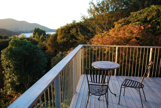 Hereweka Garden Retreat: deck