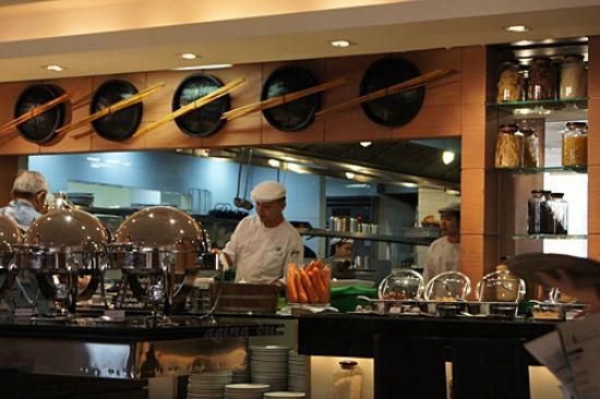 Open Kitchen Picture Of Courtyard By Marriott Bangkok Bangkok Tripadvisor