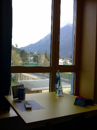 Val Blu Sporthotel & Spa : Blick vom Zimmerfenster