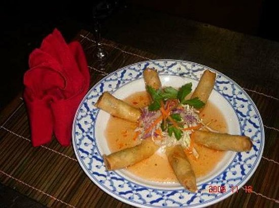 Amarit Thai Restaurant: Vegetarian egg roll