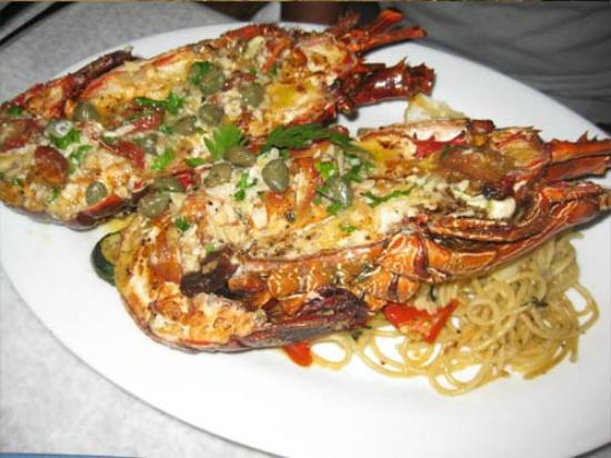 Salsa Verde: Spaghetti Lobster