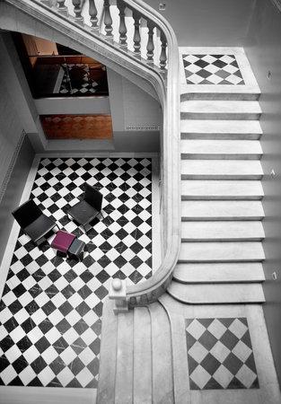 Onix Liceo Hotel: Escalera