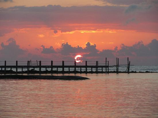 El Dorado Sensimar Riviera Maya: Sunrise...26th March 2012 :)