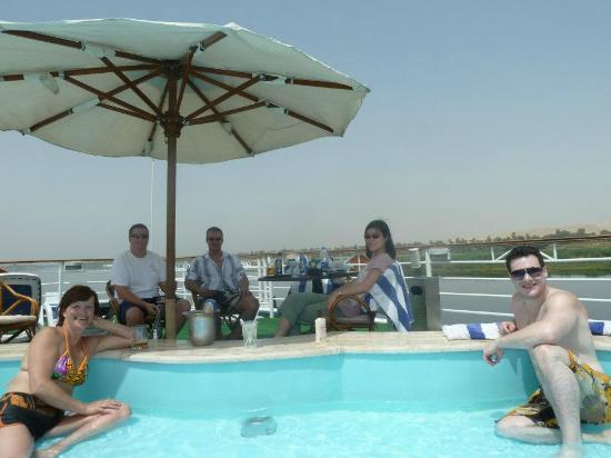 Amarante Isis: We were having so much fun we didn't leave the boat until 6p in the evening to explore Luxor