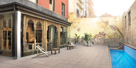 Onix Liceo Hotel: Terraza