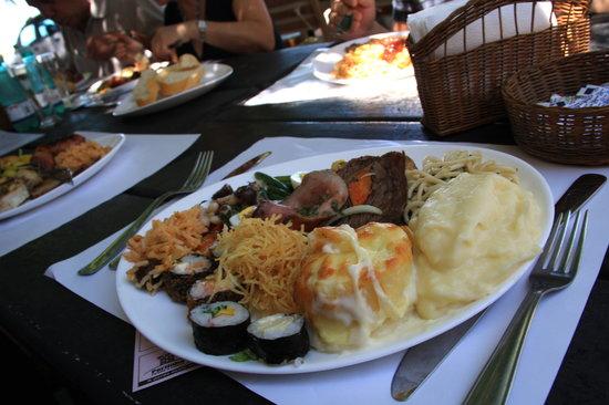 Portinha: pranzo