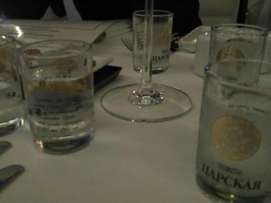 Le Village Russe: Vodka de bienvenue