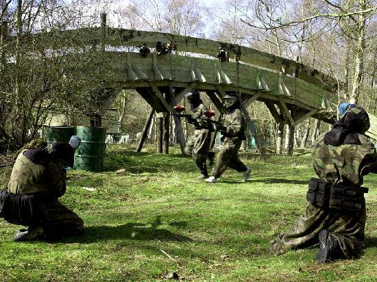 Bawtry Paintball & Laser Fields: Bridge too Far at Bawtry Paintball Fields, Voted 'Britain's Best Paintball Site 5 years running